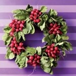 Ok-I found mine what's yours going to be?  I just can't picture a lima bean wreath....: Christmas Wreaths, Edible Wreaths, Decorating Ideas, Rachel Ray, Radish Wreaths, Rachael Ray, Ideas Party, Christmas Ideas, Party Ideas