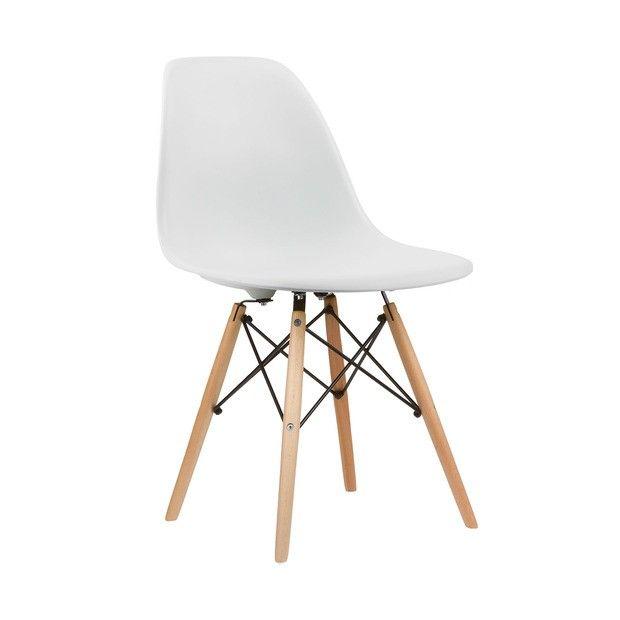 Mid Century Slope Chair In Cream   Unique Modern Furniture   Dot U0026 Bo