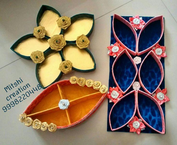 Decorative dry fruits platter