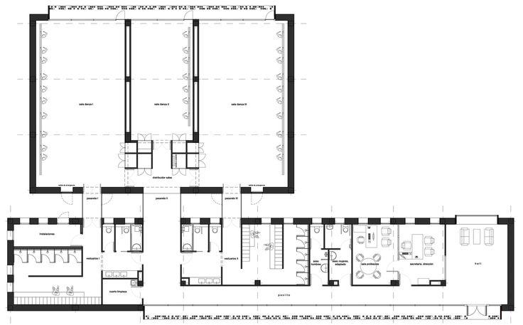 Image 12 of 12 from gallery of Dance School in Lliria / hidalgomora arquitectura. Plan