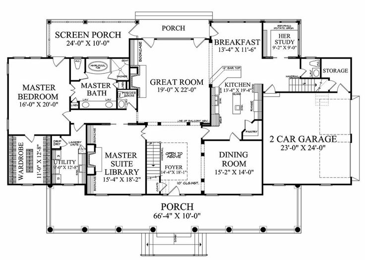 Pin by on house plans pinterest for Kitchen great room floor plans