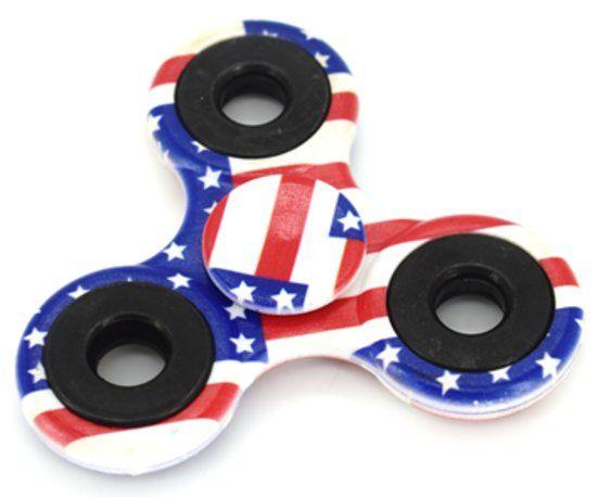 Fidget Spinner - Anti Stress - Amerikaanse Vlag
