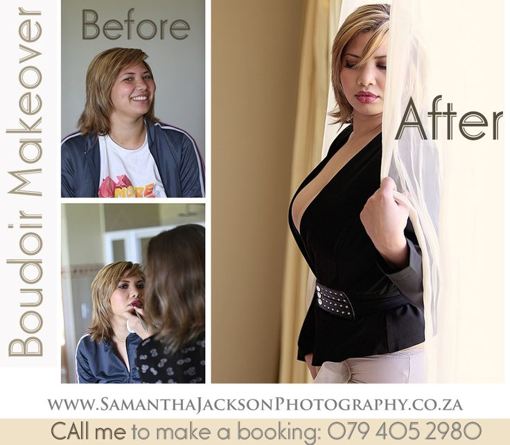 Before & After Glamour Boudoir Photography Cape Town Glamour Boudoir photography www.samanthajacksonphotography.co.za