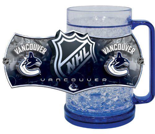 Vancouver Canucks Freezer Mugs