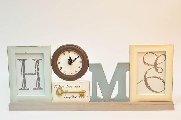 Часы-фоторамка Home