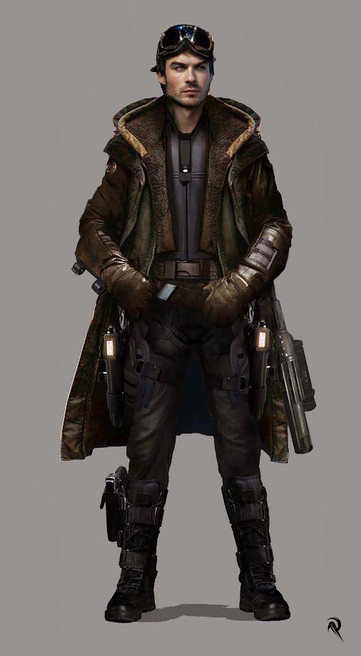 Andorreth Vikar  Smuggler/Bounty Hunter/ Body-Guard/ Slicer/ He does it all.
