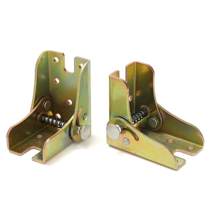 2Pcs Folding Table Leg Bracket Self Lock Folded Feet Extension Table Zinc Alloy