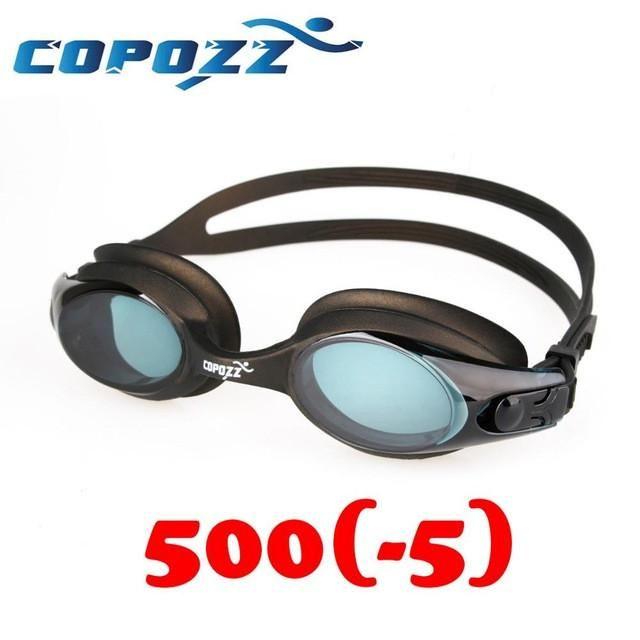 Myopia (Readers) Swim Goggles Glasses Anti Fog UV Protection Optical Eyewear