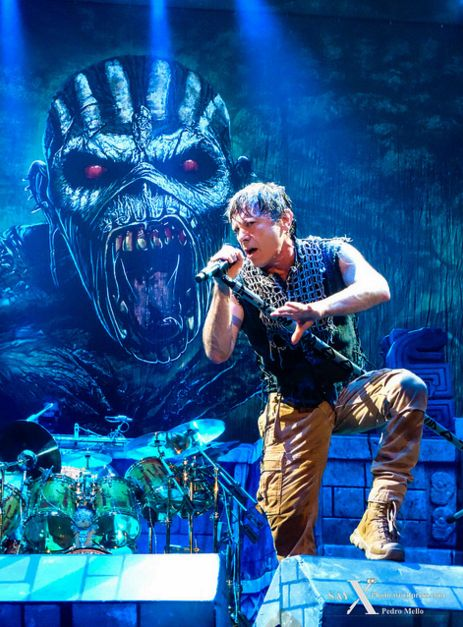 Eddie & Bruce Dickinson from Iron Maiden                                                                                                                                                                                 More