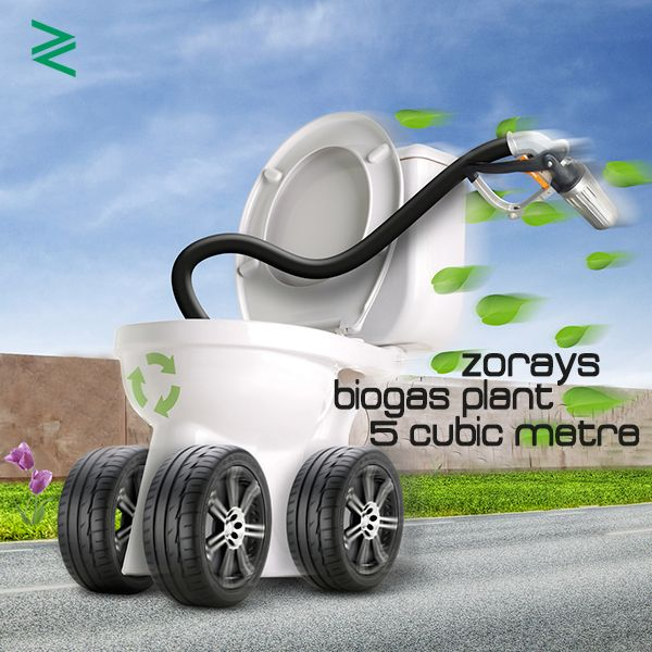 Zorays Biogas Plant (5 Cubic Metre) is available for commercial sale now. Enteraining bigger queries via Phone +92 320 816 3264 | +92 324 816 3264