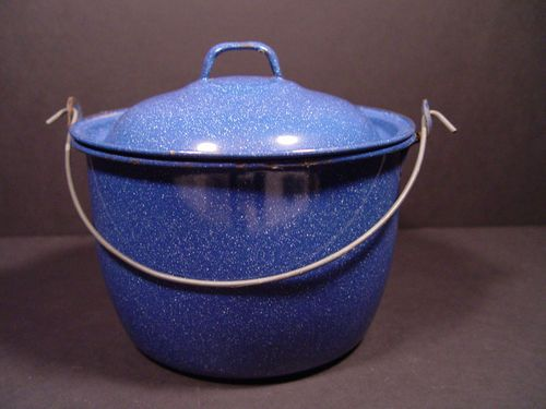 30 Best Blue Speckled Enamel Cookware Images On Pinterest