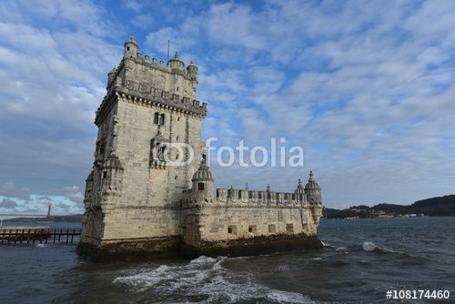 """Download the royalty-free photo """"Belem tower view, LIsbon, Portugal"""" created by Ciaobucarest at the lowest price on Fotolia.com. Browse our cheap image bank online to find the perfect stock photo for your marketing projects!"""