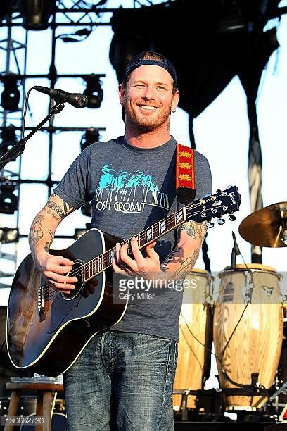Musician/vocalist Corey Taylor formerly of Slipknot and Stone Sour opens for ZZ Top during the first annual La Grange Fest at The Backyard on October...