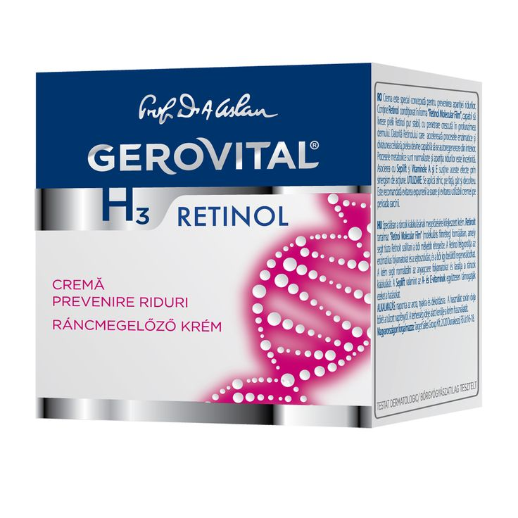 GH3 Retinol- Wrinkle Prevention Cream