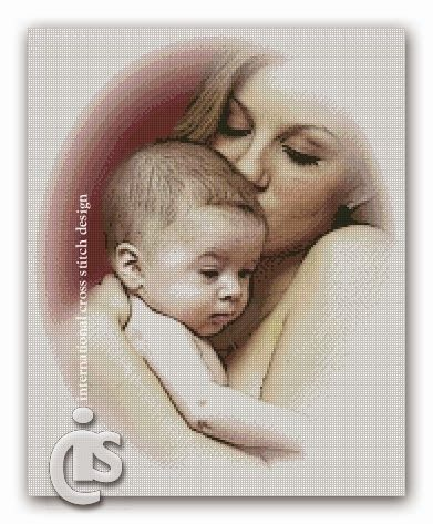 Mother Love 1 on International Cross Stitch