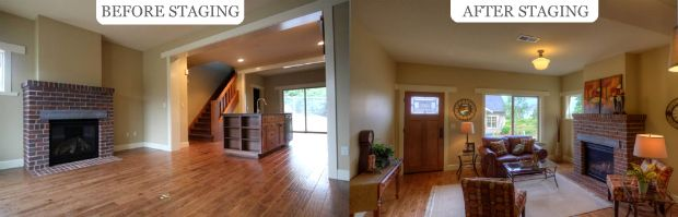 Staging Real Estates Carpets Interior Forward Professional Staging
