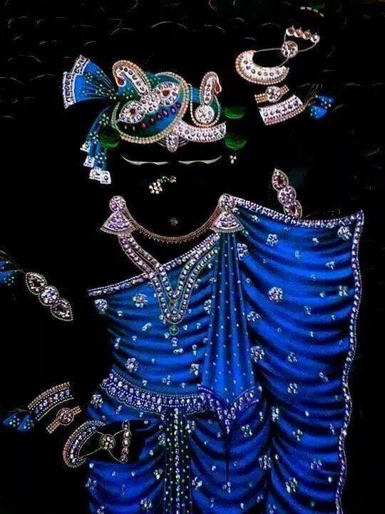 Shreenathji-Glowing Blue