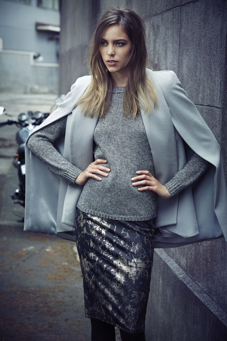 Grey Cape, Metallics.