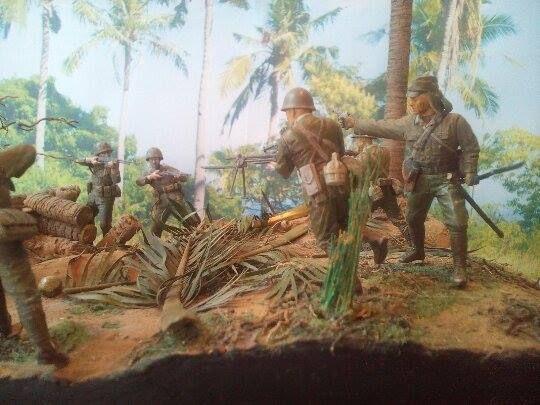 Marines! USMC vs. SNLF. Tarawa Test Shot 05