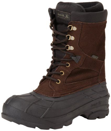 Kamik Men's Nationplus Snow Boot,Dark Brown,10 M US Kamik http://smile.amazon.com/dp/B00AZODAPI/ref=cm_sw_r_pi_dp_5ZOAub1PZ47AK