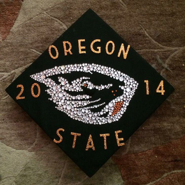 My Graduation Cap ! Oregon State University, Class of 2014 ♥