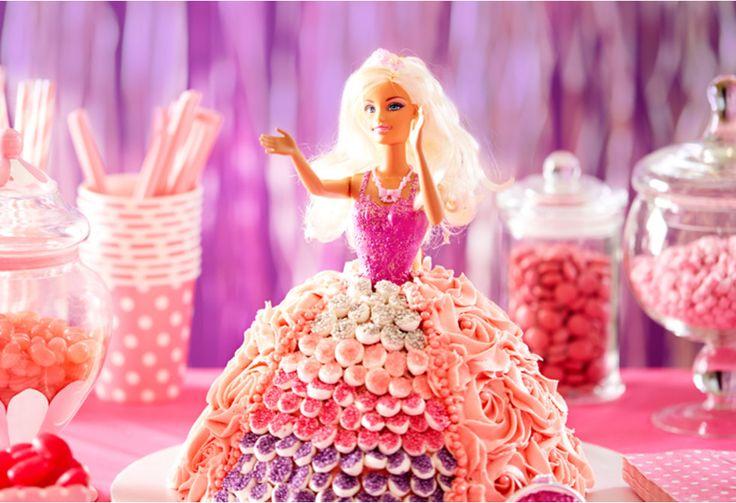 Princess/ Barbie/ Dolly Varden Cake