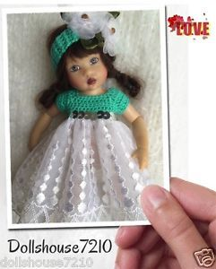 "Crochet&Lace Dress set for 7.5-8"" Kish Riley Helen Kish,Tonner BJD,Fairyland | eBay"