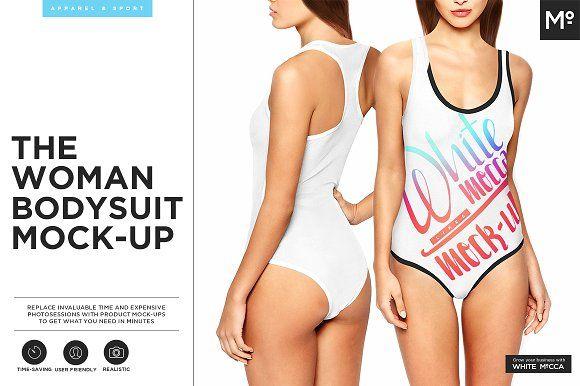 The Women Bodysuit Mock-up  @graphicsmag