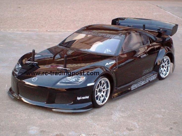 Mazda Rx Custom Painted Rc Touring Car Rc Drift Car Body