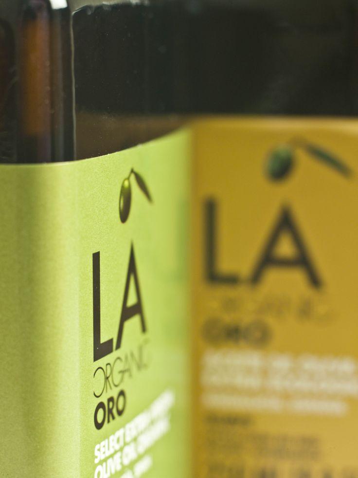 #Aceite de oliva virgen extra #ecológico LA Organic Oro