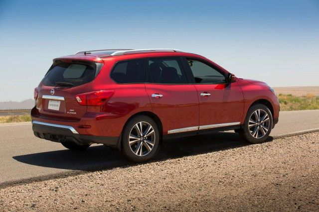 2017 Nissan Pathfinder Review, Ratings, Specs, Prices, and Photos - The Car Connection