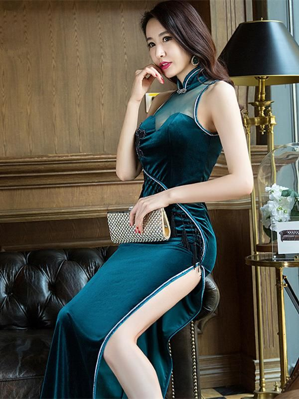 Sexy asian style dress #14
