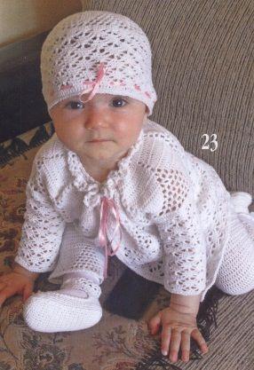 Вязание для малышей до года