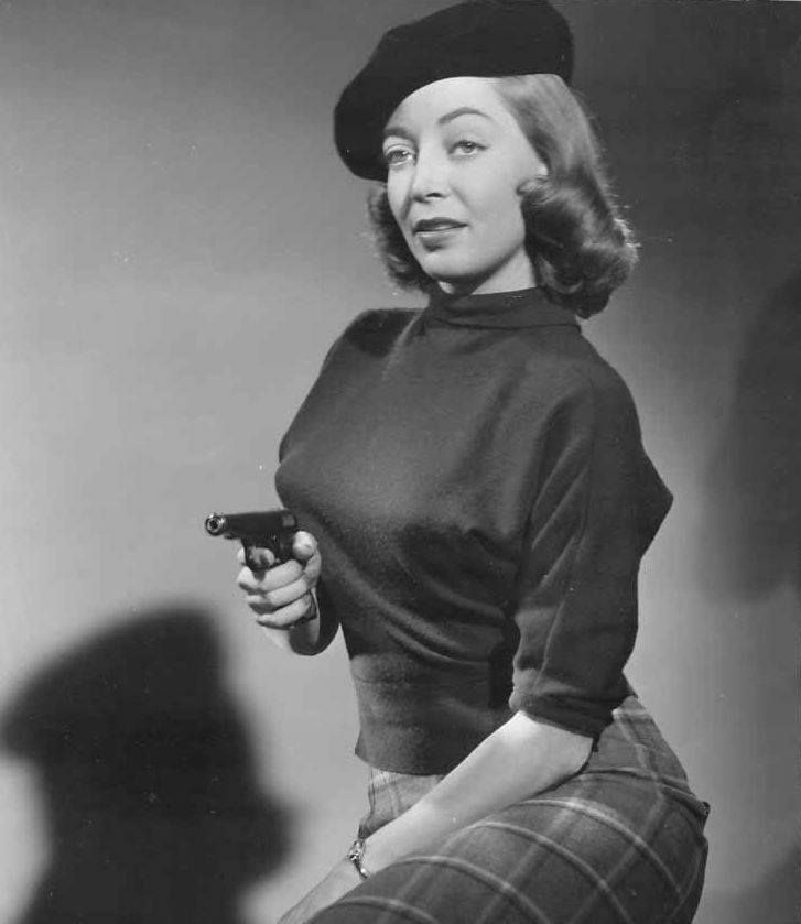 "Marie Windsor, 1956, ""Queen of the B's"" and star of many film noir classics. ""I didn't know I was doing film noir. I thought I was doing detective stories with low lighting!"""