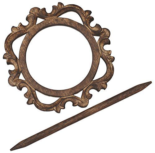 #SouvNear #HandCarved #Drapery #Curtain Holder / #Tiebacks / #Holdbacks / #Drape Binds - #Handmade #Wooden #Distressed #Brown #Vintage Look #Decorative Curtain Holders for #Office and #Home Décor# Accessories SouvNear http://www.amazon.com/dp/B013UIODK6/ref=cm_sw_r_pi_dp_6rOcwb1Z9Z2VR