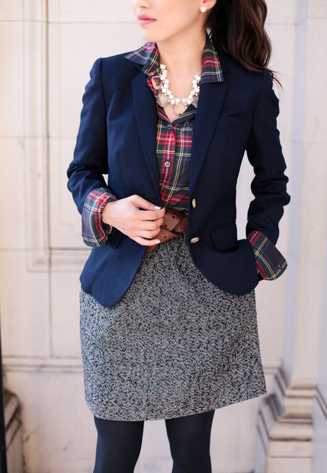 blazer office holiday party outfit // extra petite boston blog