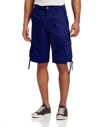 Marc Ecko Cut & Sew Men's Lightweight Twill Cargo Short, Blue, 32 Marc Ecko Cut & Sew. $39.50