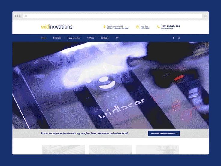Widinovations Website by Boutik
