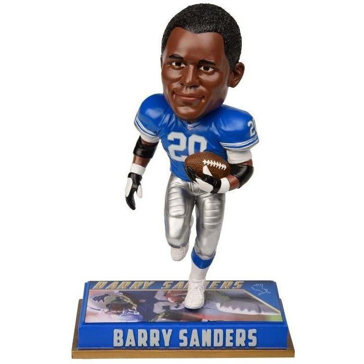 "NFL Retired Player 8"" Bobble Head Figures Detroit Lions Barry Sanders #20"