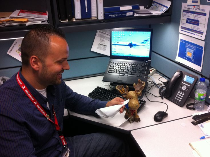 Awe, Sammy's scared of flying. Our corporate pilot, Anthony, took time to ease his fears. Thanks Anthony!