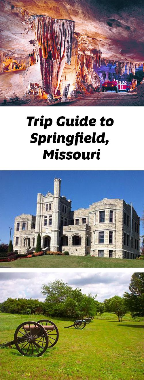 Castles, caves and more draw visitors to Springfield, Missouri. Trip guide: http://www.midwestliving.com/travel/missouri/springfield-missouri/springfield-missouri-trip-guide/