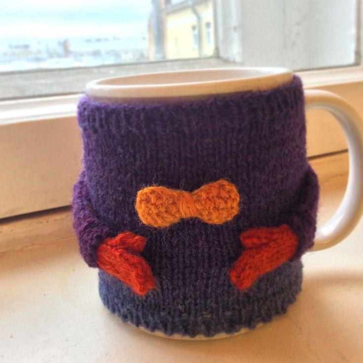 Sweater for cup Свитер на чашку Грелка на чашку