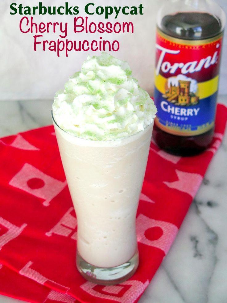Cherry Blossom Frappuccino Recipe - All