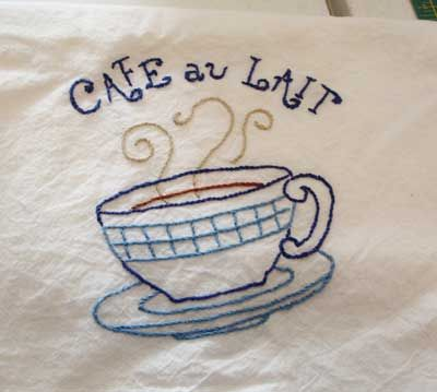 Embroidery Class Update U2013 With Photos. Dish TowelsTea ... Part 61