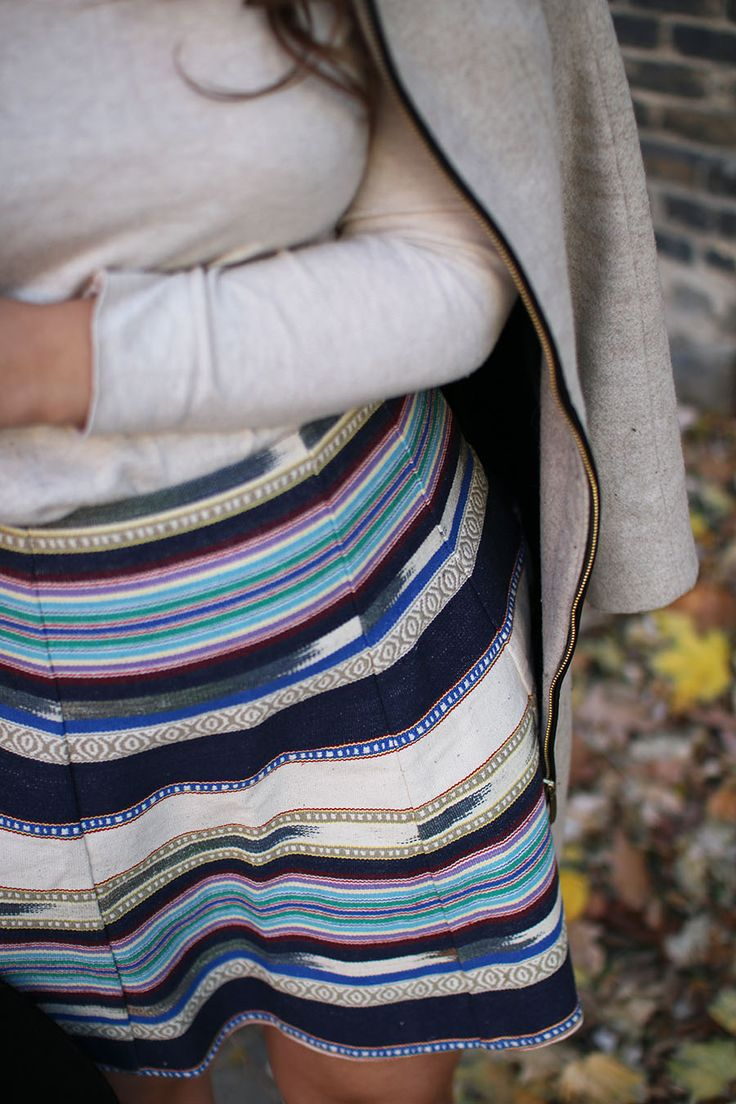 Fall Skirt // Fashion & Style Blogger - asideofvogue.com