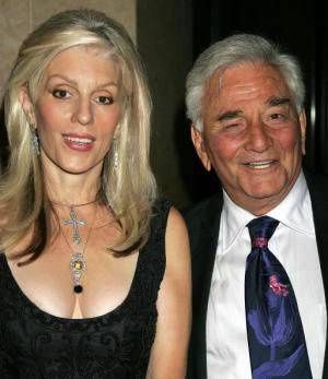 Shera and Peter Falk - Photo: David Livingston \\\\\\\/ Getty Images