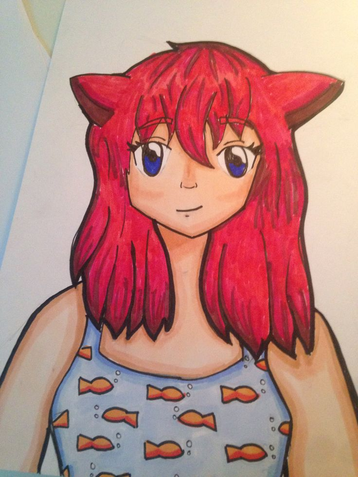 My New OC And Art Style What Should Her Name Be Comment Below If