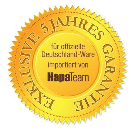 """EXKLUSIVE 5 JAHRES GARANTIE für offizielle Deutschland Ware.   Für alle Tokina Objektive die von der HapaTeam Handels mbH, dem offiziellen Vertrieb in Deutschland, importiert werden sind die Seriennummern bei HapaTeam registriert. HapaTeam leistet bei Material oder Herstellungsfehlern eine verlängerte Garantie für einen Zeitraum von 5 Jahren ab Kaufdatum. Im Garantiefall muss die mitgelieferte """"HapaTeam"""" Garantiekarte und eine Kopie des Kaufbeleges nachgewiesen werden."""