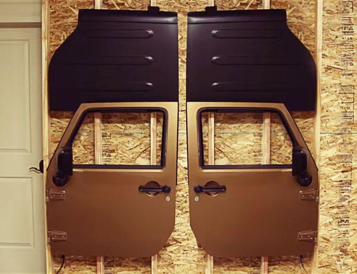 Teraflex Freedom Top Holder Amp Full Hard Door Hanger Combo