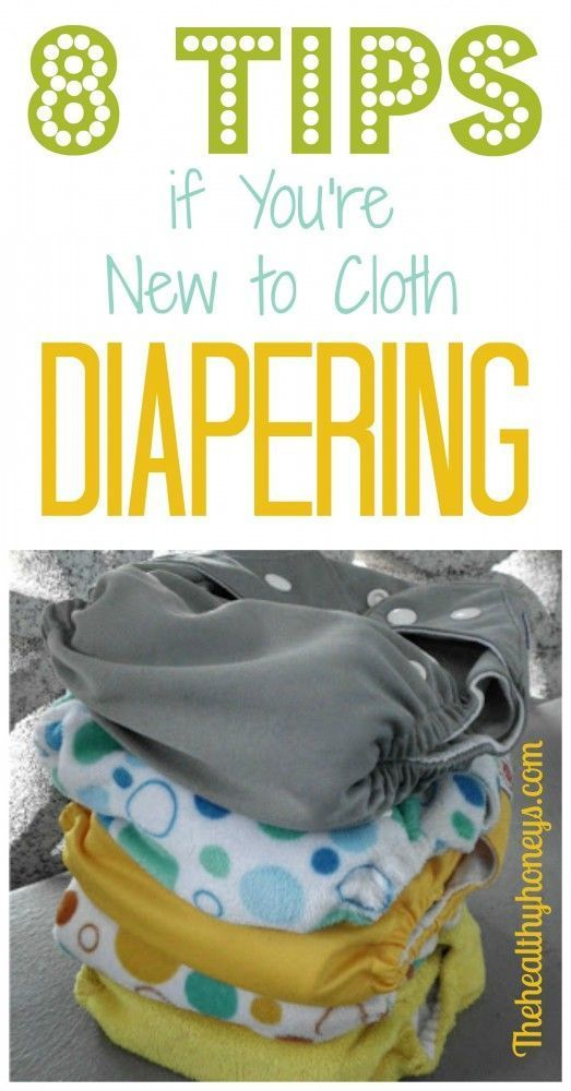 8 Tips if You're New to Cloth Diapering. #cloth #diapers #babysupplies